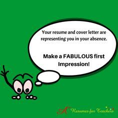A cover letter for teachers